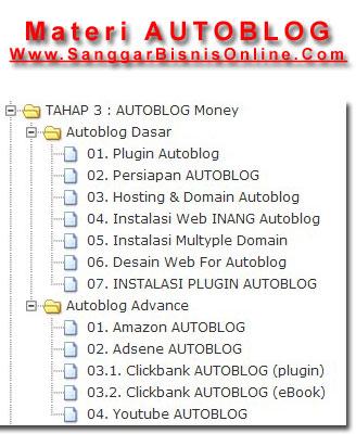 Materi Autoblog Sanggar Bisnis Online