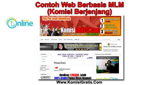 Panduan membuat website mlm