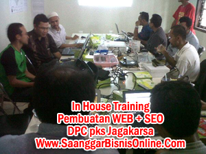 In house traininf PKS dpc Jagakarsa