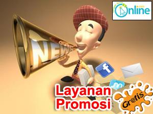 Layanan promosi gratis